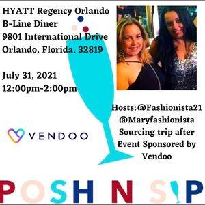Posh n Sip N Shop Orlando 7/31/21 @12pm